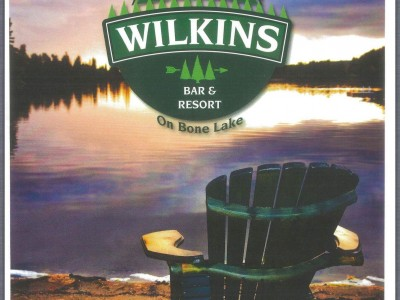 Wilkins Menu Cover