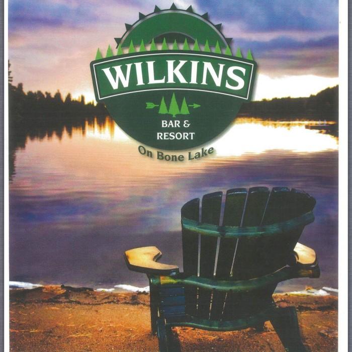 Wilkins Menu Cover