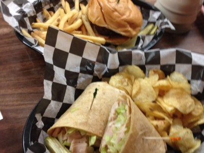 Great food at Wilkins Bar and resort
